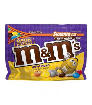 M&M's Dark Chocolate Peanut Sharing Size 10.1oz (286g)
