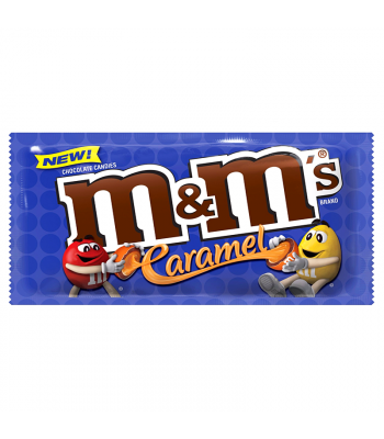 M&M's Caramel 1.41oz (40g) Sweets and Candy M&M's