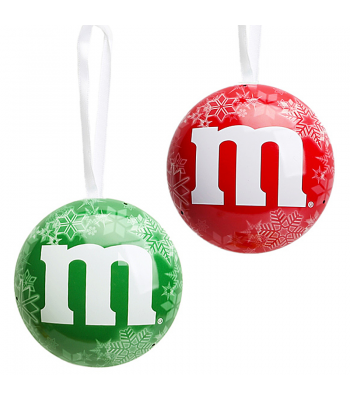 Clearance Special - M&M Milk Chocolate Ornaments Christmas 1oz ** October 2016 ** Clearance Zone