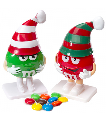 Clearance Special - M&M's Milk Chocolate Candy Filled Figurine (Best Before: June 2016) Clearance Zone
