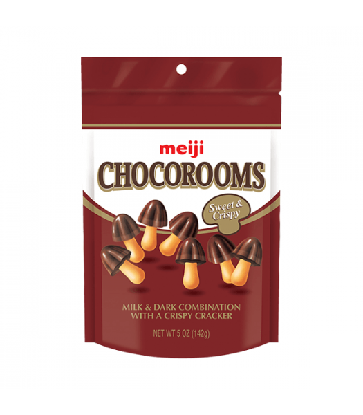 Meiji Chocorooms 1.34oz (38g) Sweets and Candy Meiji