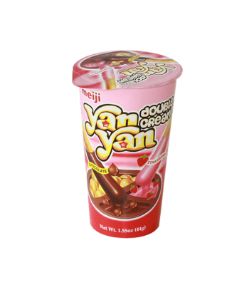 Meiji Yan Yan Chocolate Strawberry Double Creme 2oz (57g) Cookies and Cakes Meiji