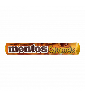 Clearance Special - Mentos Caramels - Caramel & Chocolate 1.34oz (38g) ** Best Before: July 2019 ** Clearance Zone