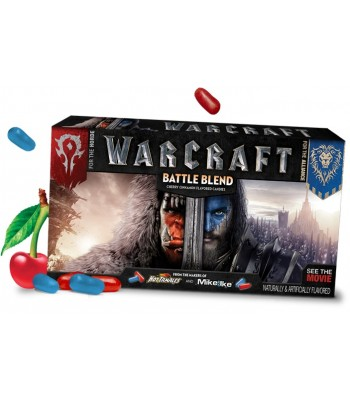 Mike and Ike Warcraft Battle Blend Theatre Box Candy 5oz (141g) Soft Candy Mike and Ike