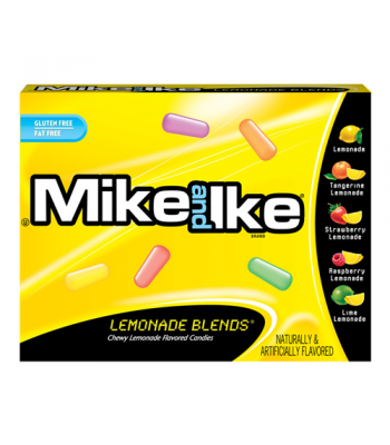 Mike & Ike Lemonade Blends Theatre Box Candy 3.6oz (102g) Soft Candy Mike and Ike