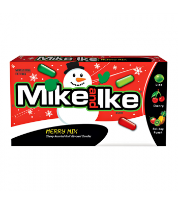 Clearance Special - Mike & Ike - Merry Mix - 5oz (142g) **Christmas** Clearance Zone