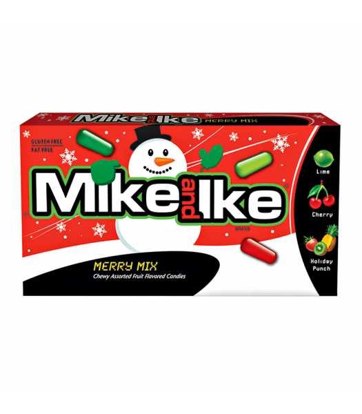 Clearance Special - Mike & Ike - Merry Mix - 5oz (142g) **Best Before: December 19 ** Clearance Zone