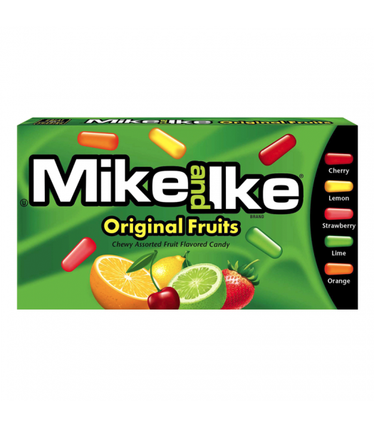 Mike & Ike - Original Theater Box 5oz (141g) Soft Candy Mike and Ike