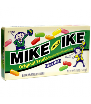 Mike and Ike Retro Original Theater Box 5oz (141g) Soft Candy Mike and Ike
