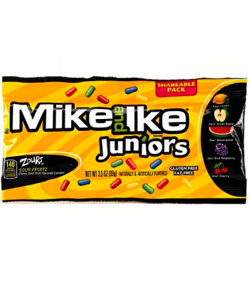 Mike & Ike Zours Juniors Share Pack 3.5oz (100g)