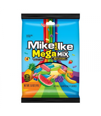 Mike & Ike Mega Mix Peg Bag - 5oz (141g) Sweets and Candy Mike and Ike