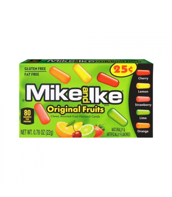 Mike & Ike - Original Fruits 0.78oz (22g) Sweets and Candy Mike and Ike