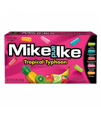Mike & Ike - Tropical Typhoon Theatre Box - 5oz (141g) Soft Candy