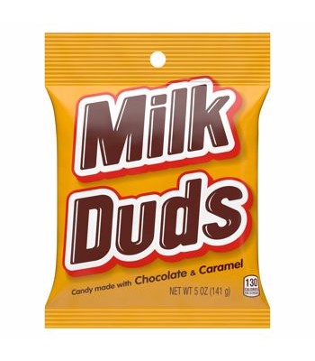 Milk Duds Peg Bag - 5oz (141.7g) Sweets and Candy Milk Duds