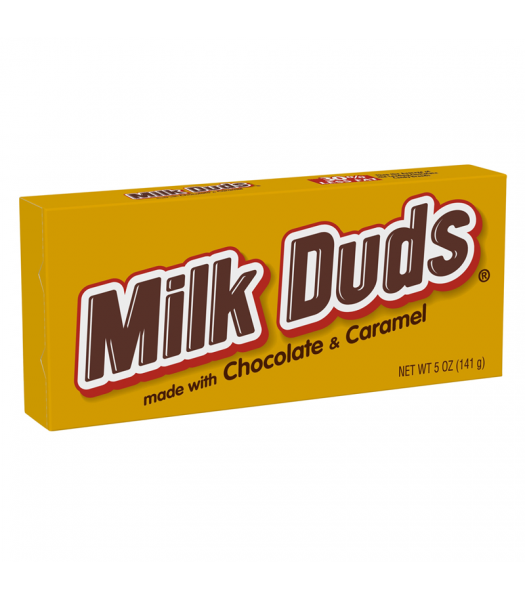 Milk Duds 5oz (141g) Theatre Box Chocolate, Bars & Treats Milk Duds