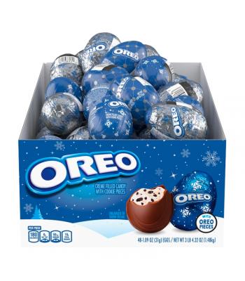 Milka Christmas Oreo Eggs - 1.09oz (31g) Sweets and Candy Oreo