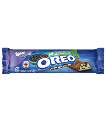 Milka - Oreo Mint Chocolate Bar - 1.44oz  (41g) Sweets and Candy