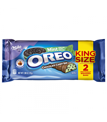 Milka - Oreo Mint Chocolate King Size Bar - 2.88oz  (82g) Sweets and Candy