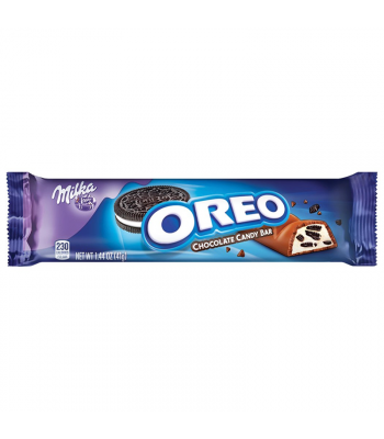 Milka - Oreo Chocolate Bar - 1.44oz (41g)