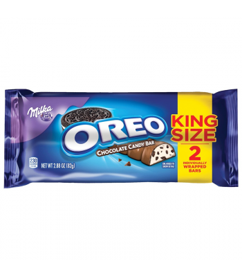 Milka - Oreo Chocolate King Size Bar - 2.88oz (82g) Sweets and Candy