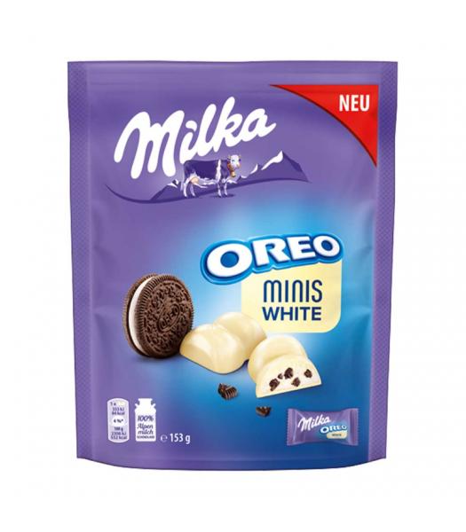 Milka Oreo Minis White Chocolate - 153g (EU) Sweets and Candy Oreo