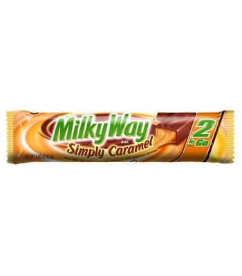 Milky Way Simply Caramel 2 To Go Bar 2.84oz (80.5g) Chocolate, Bars & Treats Milky Way
