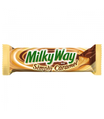 Milky Way Bar Simply Caramel 1.91 oz (54.1g) Chocolate, Bars & Treats Milky Way
