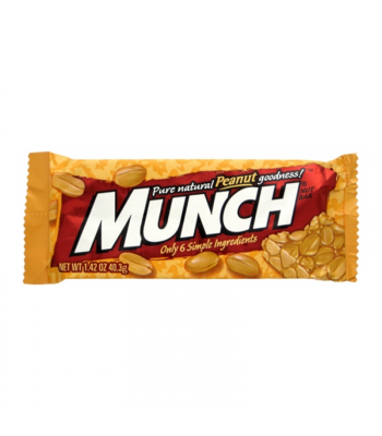 Munch Peanut Bar 1.42oz (40.3g) Sweets and Candy