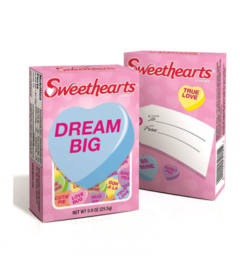 Necco Valentine Sweethearts - 0.9oz (25.5g) Sweets and Candy Necco