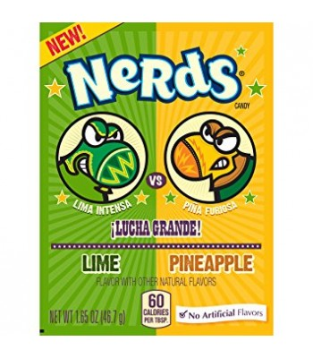 Nerds Lime Pineapple 1.65oz (46.7g) Sweets and Candy Wonka