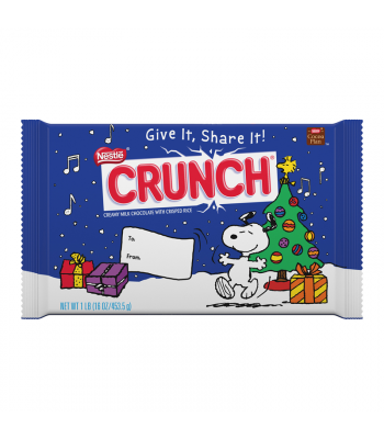 Clearance Special - Nestle Crunch Giant Bar - 1lb (453.5g) [Christmas] Sweets and Candy Nestle