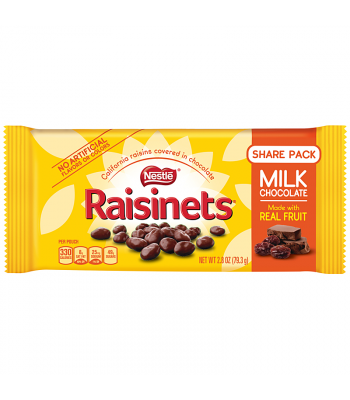 Clearance Special - Nestle Raisinets - Chocolate Covered Raisins - 1.58oz (44.7g) **Best Before: November 19** Clearance Zone