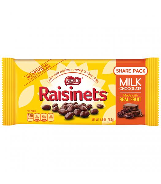Clearance Special - Nestle Raisinets - Chocolate Covered Raisins - 1.58oz (44.7g) **Best Before: June 2019** Clearance Zone
