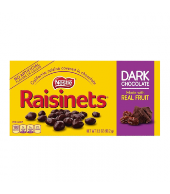 Raisinets Dark Chocolate Theatre Box 3.5oz (99.2g)