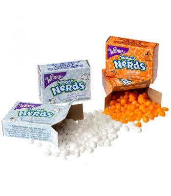 Nestle Nerds Spooky Fun Size Box (13g)  Wonka