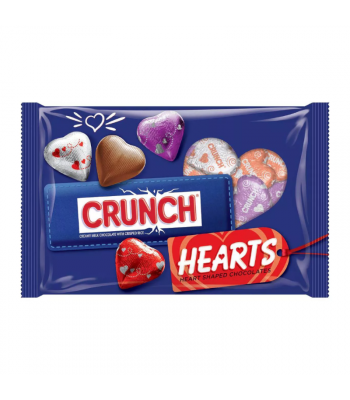 Nestle Valentine Crunch Hearts - 9oz (255.1g) Sweets and Candy Nestle