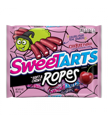 Sweetarts Halloween Soft & Chewy Cherry Punch Ropes - 9oz (255.1g) Sweets and Candy Nestle