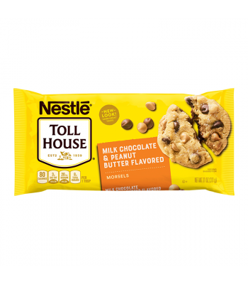 Nestle Toll House Peanut Butter & Milk Chocolate Morsels 11oz (311g) Baking & Cooking Nestle