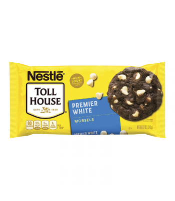 Nestle Toll House Premier White Chocolate Morsels - 12oz (340g) Food and Groceries Nestle