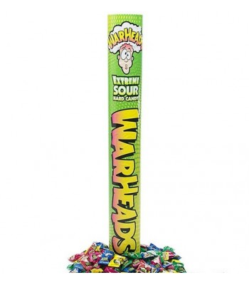 Warheads Miniatures Giant Tube - 7.5oz (212g) Novelty Candy Warheads