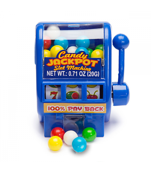 Kidsmania Slot Machine Candy Dispenser - 0.71oz (20g) Sweets and Candy Kidsmania