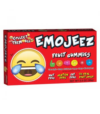 Emojeez - Tears of Joy - Gummy Candy Theatre Box - 3.5oz (99g) Soft Candy