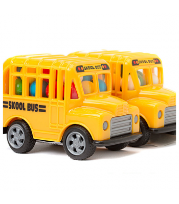 Kidsmania Candy Filled Skool Bus - 0.53oz (15g) Sweets and Candy Kidsmania