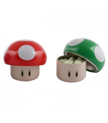 Nintendo Mushroom Sours Tin 1oz Novelty Candy