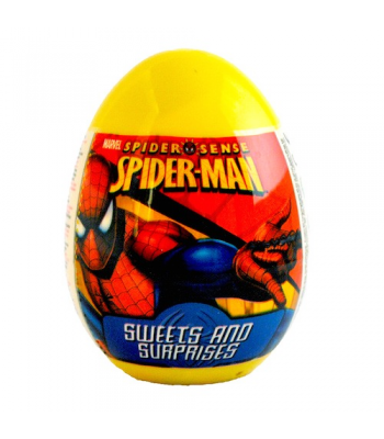 Spiderman Surprise Egg Novelty Candy