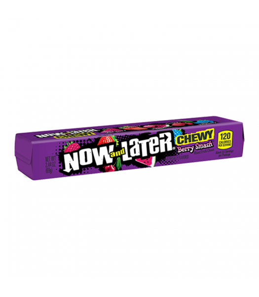 Now & Later Chewy Berry Smash - 2.44oz (69g) Sweets and Candy Now & Later