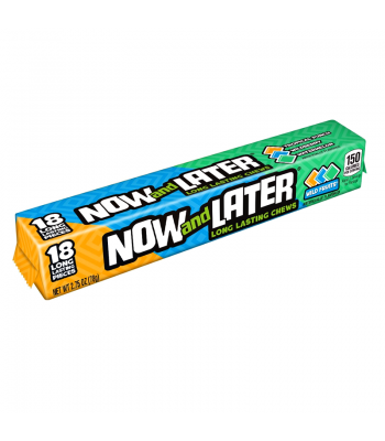Now & Later Wild Fruits Long Lasting Chews 2.75oz (78g) Sweets and Candy Now & Later