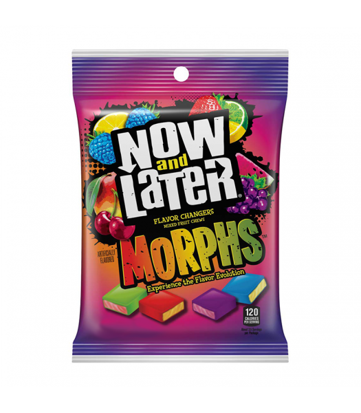 Now & Later Morphs Peg Bag - 3.5oz (99g) Sweets and Candy Now & Later