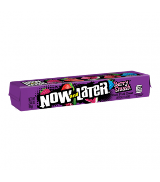 Now & Later Berry Smash - 2.44oz (69g) Sweets and Candy Now & Later