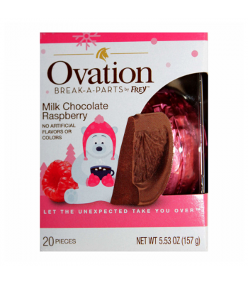 Ovation Break-A-Parts Raspberry-Filled Milk Chocolate - 5.53oz (156g) Sweets and Candy
